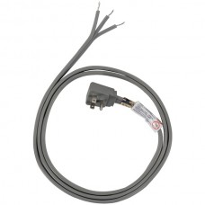 13-Amp Grounded Right-Angle Plug Head Power Supply Cord, 6ft