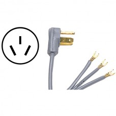 3-Wire Open-End-Connector 40-Amp Range Cord, 5ft