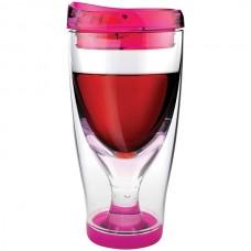 10-Ounce Vino 2 Go Wine Tumbler (Pink)