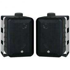 100-Watt 3-Way 4-Inch RtR Series Indoor/Outdoor Speakers (Black)