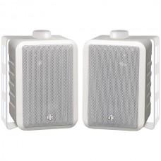100-Watt 3-Way 4-Inch RtR Series Indoor/Outdoor Speakers (White)