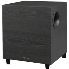100-Watt 8-Inch Down-Firing Powered Subwoofer for Home Theater and Music