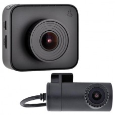 Drive HD(TM) DASH 2216D Dual-View Dash Cam System with Driver Alert System