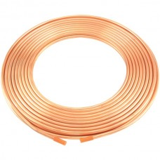 Copper Refrigeration Tubing, 50-Foot Roll (1/4-Inch)