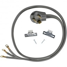 3-Wire Eyelet 30-Amp Dryer Cord, 6ft