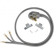 3-Wire Eyelet 40-Amp Range Cord, 4ft