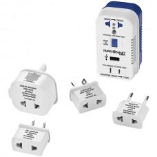 2-Outlet, 1,875-Watt Converter for Single- & Dual-Voltage Appliances