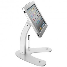 Antitheft Security Kiosk Stand with Locking Case & Cable for iPad(R) Gen. 5 (2017), iPad(R) Gen. 6 (2018), iPad Air(R), and iPad Pro(R) 9.7