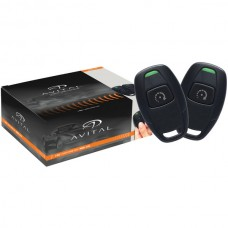 4115L Remote-Start System with 2 Microsized 1-Button Remotes