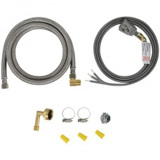 Dishwasher Installation Kit with Right-Angle Plug Head
