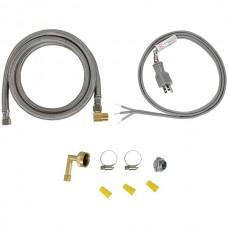 Dishwasher Installation Kit with Straight Plug Head