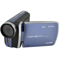 20.0-Megapixel 1080p DV30HD Fun Flix(R) Slim Camcorder (Blue)