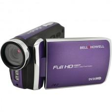 20.0-Megapixel 1080p DV30HD Fun Flix(R) Slim Camcorder (Purple)