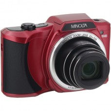 20.0-Megapixel 1080p Full HD Wi-Fi(R) MN22Z Digital Camera with 22x Zoom (Red)