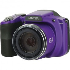 20.0-Megapixel 1080p Full HD Wi-Fi(R) MN35Z Bridge Camera with 35x Zoom (Purple)