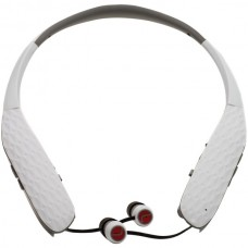 AMPED(TM) HearBand(TM) with Bluetooth(R) & Microphones (White)