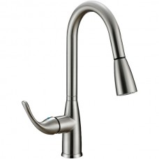 Hi-Arc Single-Handle Pull-down Sprayer Kitchen Faucet