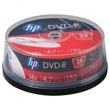 4.7 16x DVD-Rs, 25-ct