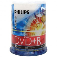 4.7GB 16x DVD+Rs (100-ct Cake Box Spindle)