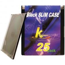 Slim Jewel Cases, 25 pk