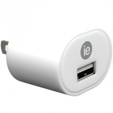 1-Amp USB Wall Charger (White)