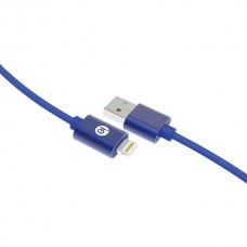 Charge & Sync Braided Lightning(R) to USB Cable, 10ft (Blue)