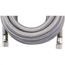Braided Stainless Steel Ice Maker Connector, 15ft