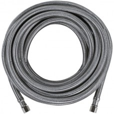 Braided Stainless Steel Ice Maker Connector, 25ft