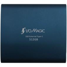Blue Diamond USB 3.1 Type-C/Type-A External SSD Drive (512 GB)