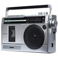 Retro Rocker(TM) Portable Boombox with Bluetooth(R)