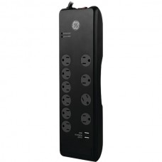 10-Outlet Surge Protector with 2 USB Ports