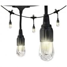 Classic LED Cafe Lights(TM) (12ft; 6 Acrylic Bulbs)