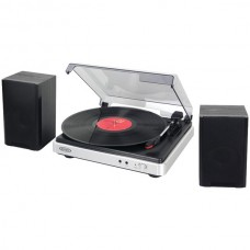 3-Speed Turntable with Stereo Speakers