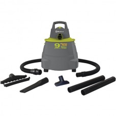 Wet/Dry Vacuum Cleaner with 9-Gallon Tank