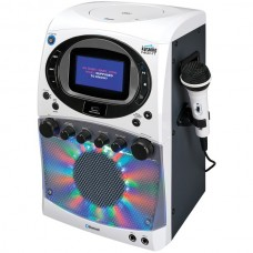 CD+G Karaoke Machine with Bluetooth(R) & LED Light Show