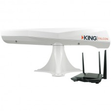 Falcon Directional Wi-Fi(R) Antenna with WiFiMax Router/Range Extender (White)