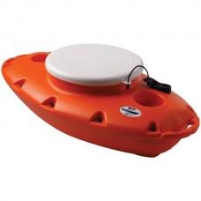 15-Quart PuP Floating Cooler (Orange)