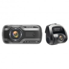 DRV-A501WDP Dual-Camera Wide-Quad HD Drive Recorder with 3-Inch LCD, Wi-Fi(R), and GPS