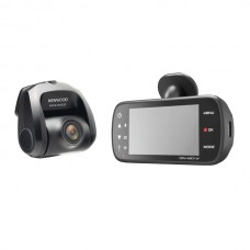 DRV-A601WDP Dual-Camera Wide-Quad HD Drive Recorder with 3-Inch LCD, Wi-Fi(R), and GPS