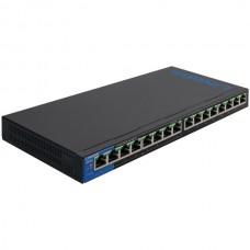 16-Port Desktop Gigabit PoE Switch