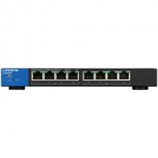 180-Watt PoE+ Smart 8 Port Gigabit Network Switch