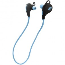 ACTIVE SOUND Bluetooth(R) In-Ear Earphones with Microphone (Blue)
