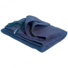 Comfy Cruise(R) 12-Volt Heated Travel Blanket (Navy)