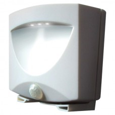 Battery-Powered Motion-Activated Outdoor Night Light (White)