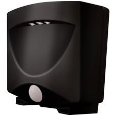 Battery-Powered Motion-Activated Outdoor Night Light (Black/ Dark Bronze)