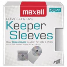 CD/DVD Keeper Sleeves (50 pk)