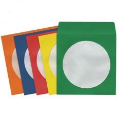 CD/DVD Storage Sleeves (100 pk; Colors)