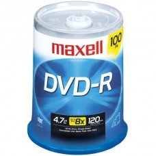 4.7GB 120-Minute DVD-Rs (100-ct)