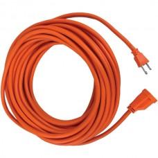Orange Outdoor Power Extension Shop Cord, 50 Feet