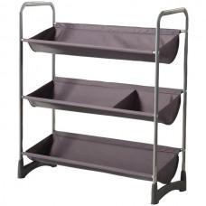 3-Tier Stackable Multipurpose Garage Shelf